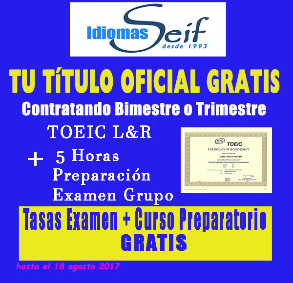 toeic redes mediano
