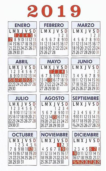 Calendario Examenes Derecho Us.Calendario Laboral Idiomasseif