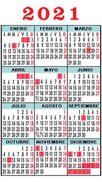 calendario seif english academy