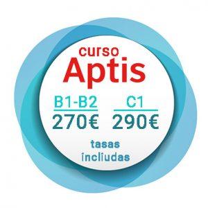 precios curso aptis b1 b2 c1